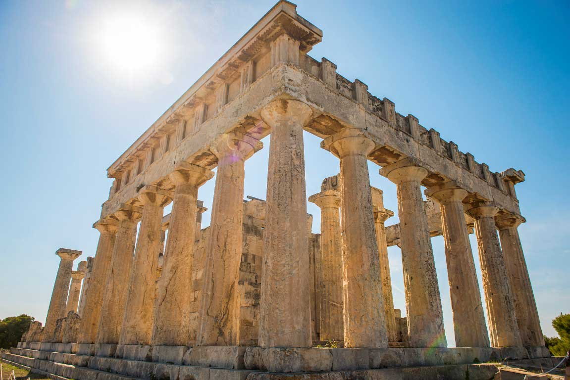 One Of The Best Preserved Temples In Greece