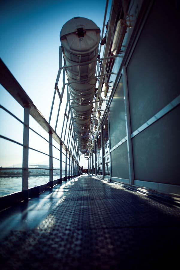 Inside A Cruise Ship Engine Room: Platytera Ton Ouranon